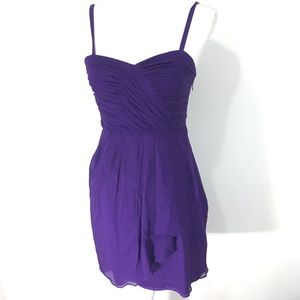 J crew Taryn dress purple bodice